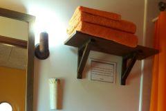 detalle del baño de la casa rural de Can Micos en Girona