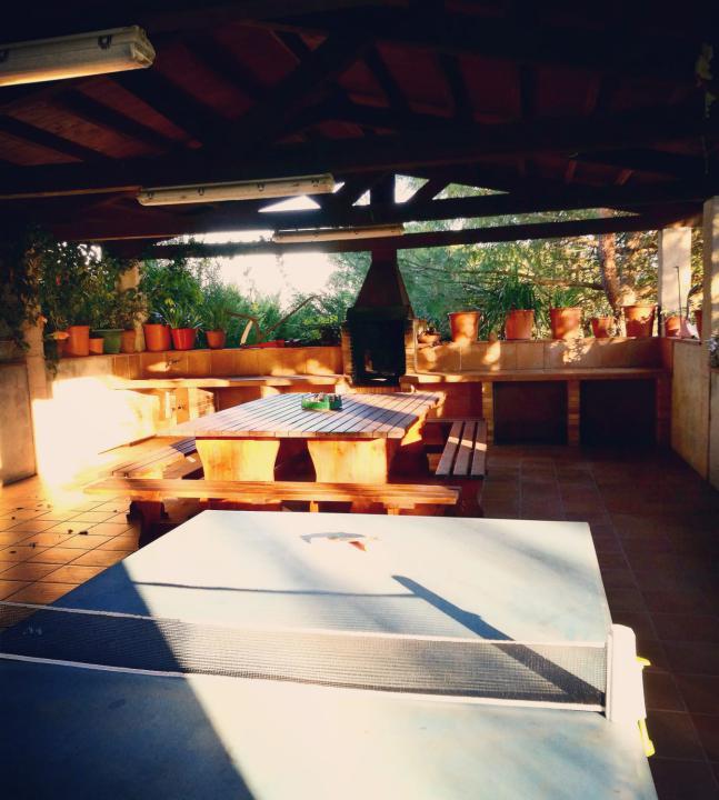 Barbacoa de la casa rural de Can Micos en Girona | Costa Brava