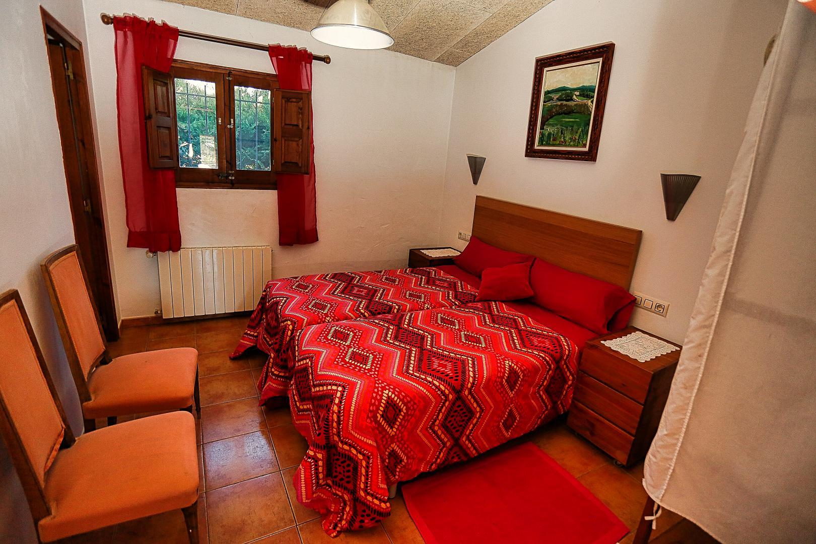 habitación casa rural de Can Micos (Girona)