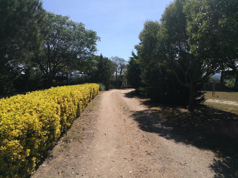 Entrada floral de la casa rural de Can Micos en Riudarenes | Girona