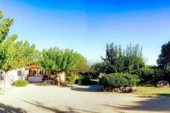 patio del alquiler vacacional de Can Micos en Girona | Costa Brava