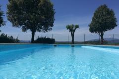 piscina y vista infinito de la casa de vacaciones de Can Micos