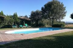 otro angulo de piscina del alquiler vacacional de Can Micos