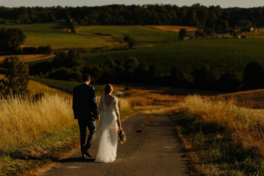 boda rural en Can Micos en Girona