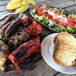 Comida del catering de la casa rural de Can Micos girona