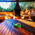 barbecue of the Villa between the montseny and the costa brava