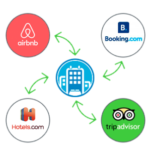OTAs como AirBnb, booking o HomeAway