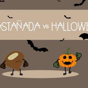Castanyada o halloween en una casa rural